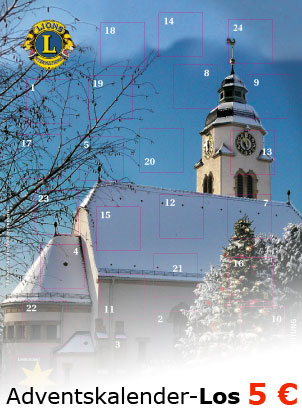 Adventskalender Lions Club Bietigheim